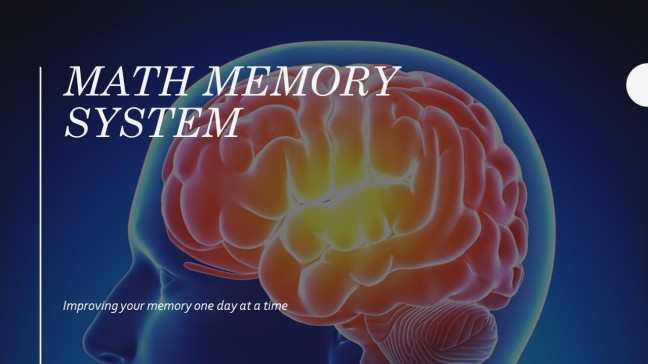 Math Memory System