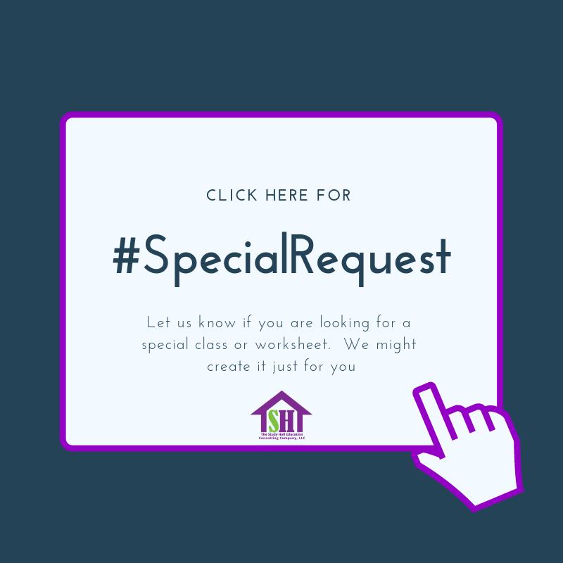 #specialrequest